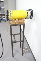 床面撮影用治具使用